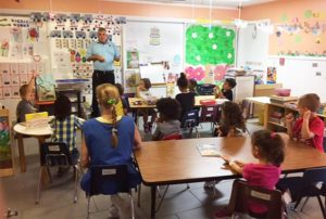 EduCare special guest, Bug Man talks to the students about insects