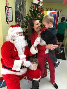 Christmas: Santa's Visit to EduCare Learning Center, Port Charlotte FL