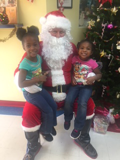 Christmas: Santa's Visit to EduCare Learning Center, Port Charlotte FL