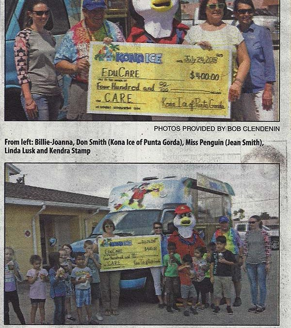 EduCare Donates to C.A.R.E