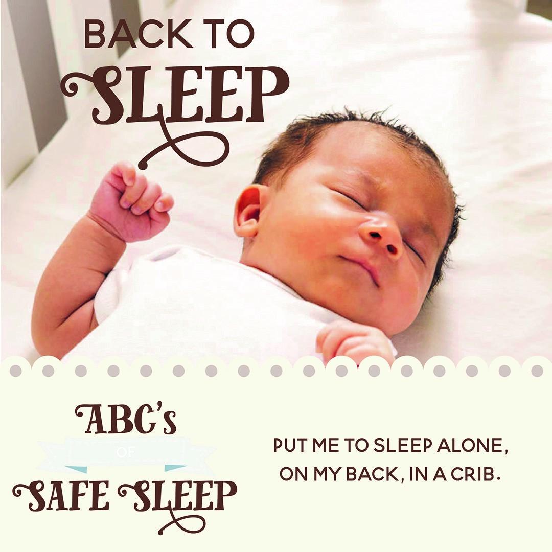Back to Sleep, ABCs of Safe Sleep